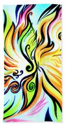 Sunny Morning. Abstract Vision Bath Towel