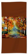 Sunny October Bath Towel