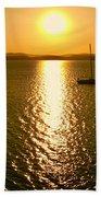 Sunrise 6 8 17 Malletts Bay Bath Towel