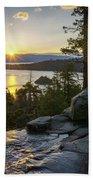 Sunrise At Emerald Bay In Lake Tahoe Bath Towel