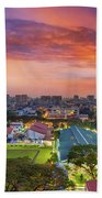 Sunrise By Mrt Station In Eunos Singapore Bath Towel