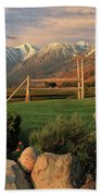 Sunrise In Carson Valley Hand Towel