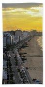 Sunrise In Rio De Janeiro Bath Towel