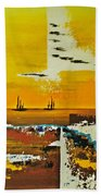 Sunrise In The West Hand Towel