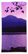 Sunrise On Lake Shasta Bath Towel