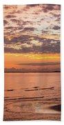 Sunrise On The Shore  Bath Towel