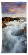 Sunrise Surge Bath Towel