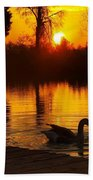 Sunset At Copper Canyon Ranch Bath Towel