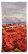 Sunset At Kodachrome Basin State Park Panorama Bath Towel