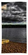 Sunset At Nicks Lake Bath Towel
