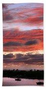 Sunset At Pass A Grille Florida Bath Towel