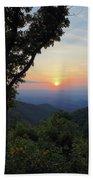Sunset At Purgatory Mountain Bath Towel