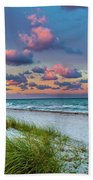 Sunset Beach  Bath Towel