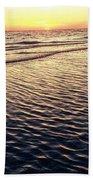 Sunset Beach In Florida Paradise Bath Towel