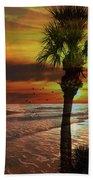 Sunset In Florida Bath Towel