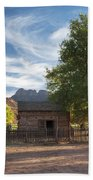 Sunset In Grafton Ghost Town I Bath Towel