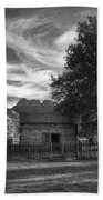 Sunset In Grafton Ghost Town Bath Towel