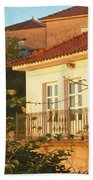 Sunset In Portugal  Hand Towel
