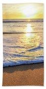 Sunset On The Beach Hand Towel