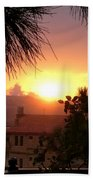 Sunset Over Bcharre, Lebanon Bath Towel