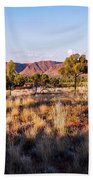Sun Setting Over Kings Canyon - Northern Territory, Australia Bath Towel