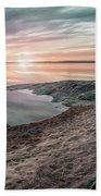 Sunset Over Lake Vanern, Sweden Bath Towel