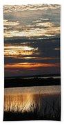 Sunset Over Navarre Bath Towel