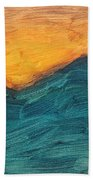 Sunset Over Rendezvous  Bath Towel