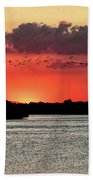 Sunset Over Tampa Bay 2 Bath Towel