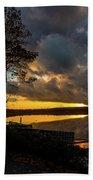 Sunset Reflection Hand Towel