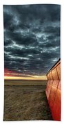 Sunset Saskatchewan Canada Bath Towel