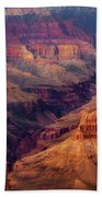 Sunset Scar Bath Towel