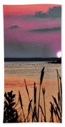 Sunset Scene Bath Towel