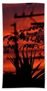 Sunset Sihouettes Bath Towel