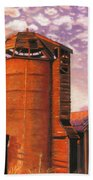 Sunset Silo Hand Towel