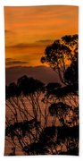 Sunset /torrey Pines Image 2 Bath Towel