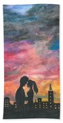 Sunset With You Bath Towel
