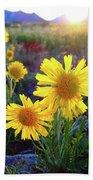 Sunsets And Sunflowers Of Buena Vista 2 Bath Sheet