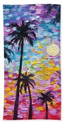 Sunsets In Florida Bath Towel