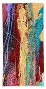 Sunshine Coast Colorful Abstract  Bath Sheet