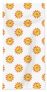 Sunshine Daisy Repeat Bath Towel