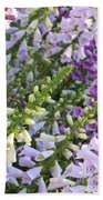 Sunshine On Foxgloves Bath Towel