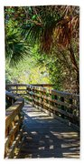 Sunshine On The Boardwalks Bath Towel