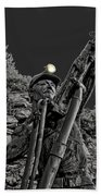 Sunshine Silver Mine Memorial - Kellogg Idaho Bath Towel