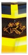 Super Bee Camaro Grill Bath Towel