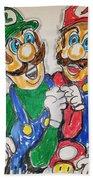 Super Mario Brothers Bath Towel