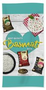 Superior Quality Basmati Rice Importers In New Zealand - Kashish Food Bath Towel