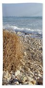 Surfing With Palms Bath Towel