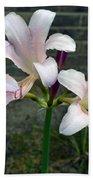 Surprise Lilies Bath Towel