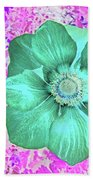 Surreal Poppy  Bath Towel